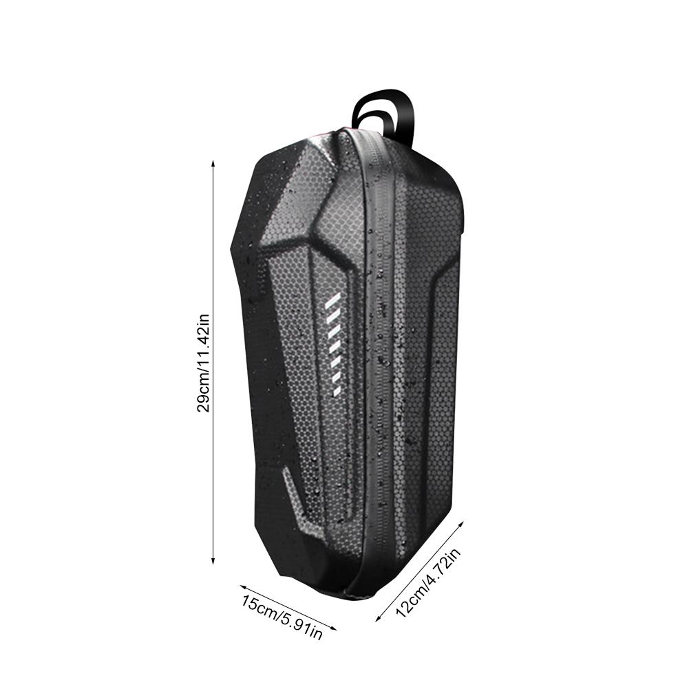 Image 5 - Scooter Storage Bag Electric Scooter Front Hanging Bag For Car Charger Tool For Xiaomi m365 Sedway Ninebot ES ES1 ES2 ES3 ES4-in Skate Board from Sports & Entertainment