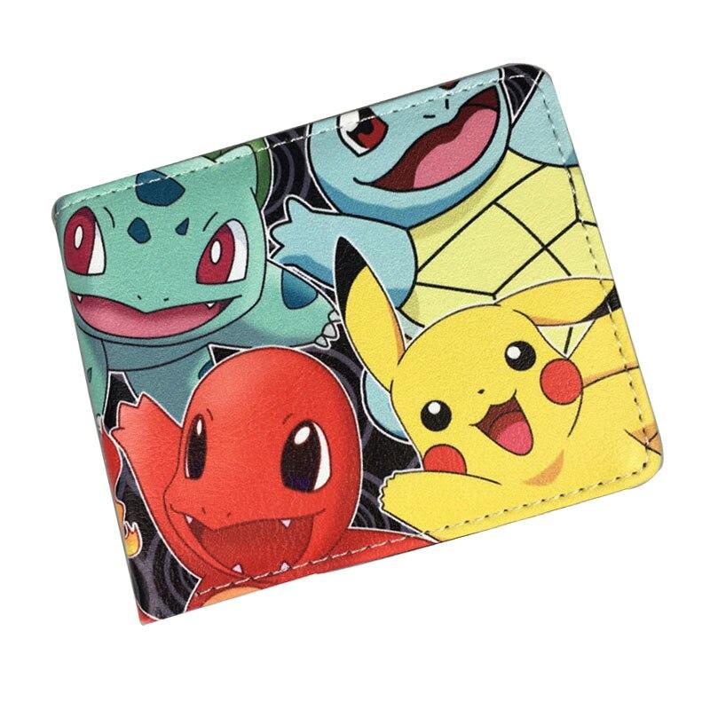Hot Pokemon Purse Cartoon Pocket Monster Ball Juegos Kawaii Pikachu
