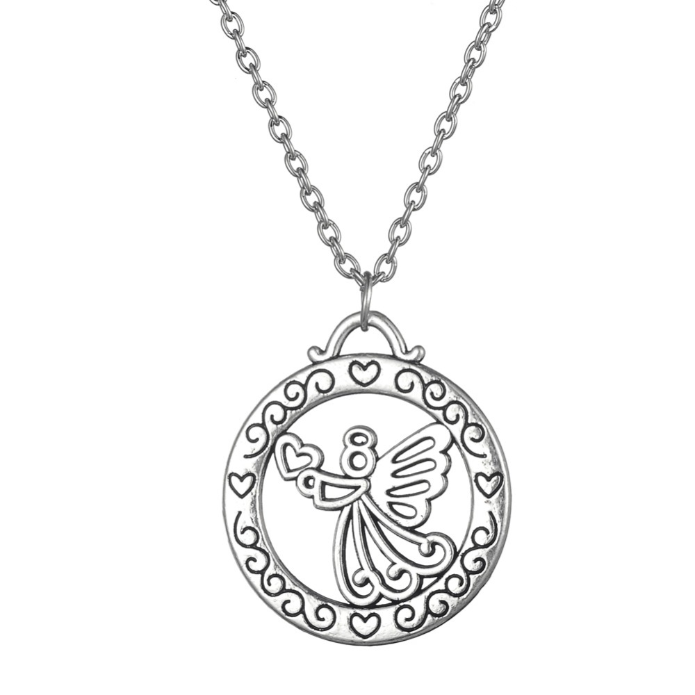alternate pendant heavenly os view necklace size angel product necklaces