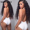 Mink Brazilian Virgin Hair With Closure Kinky Curly Virgin Hair With Closure Curly Weave Human Hair 3 Bundles With Lace Closure