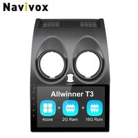 Navivox 9'' 2 din Android 7.1.1 Car GPS Navigation Stereo Audio Player For Qashqai RAM2G+ROM32G Car Radio GPS Navigation
