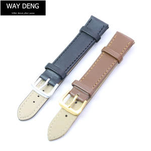 Strap-Accessories Watch-Band Deng-Women Two-Piece Many-Sizes-Y038 Vintage Way Plain Soft