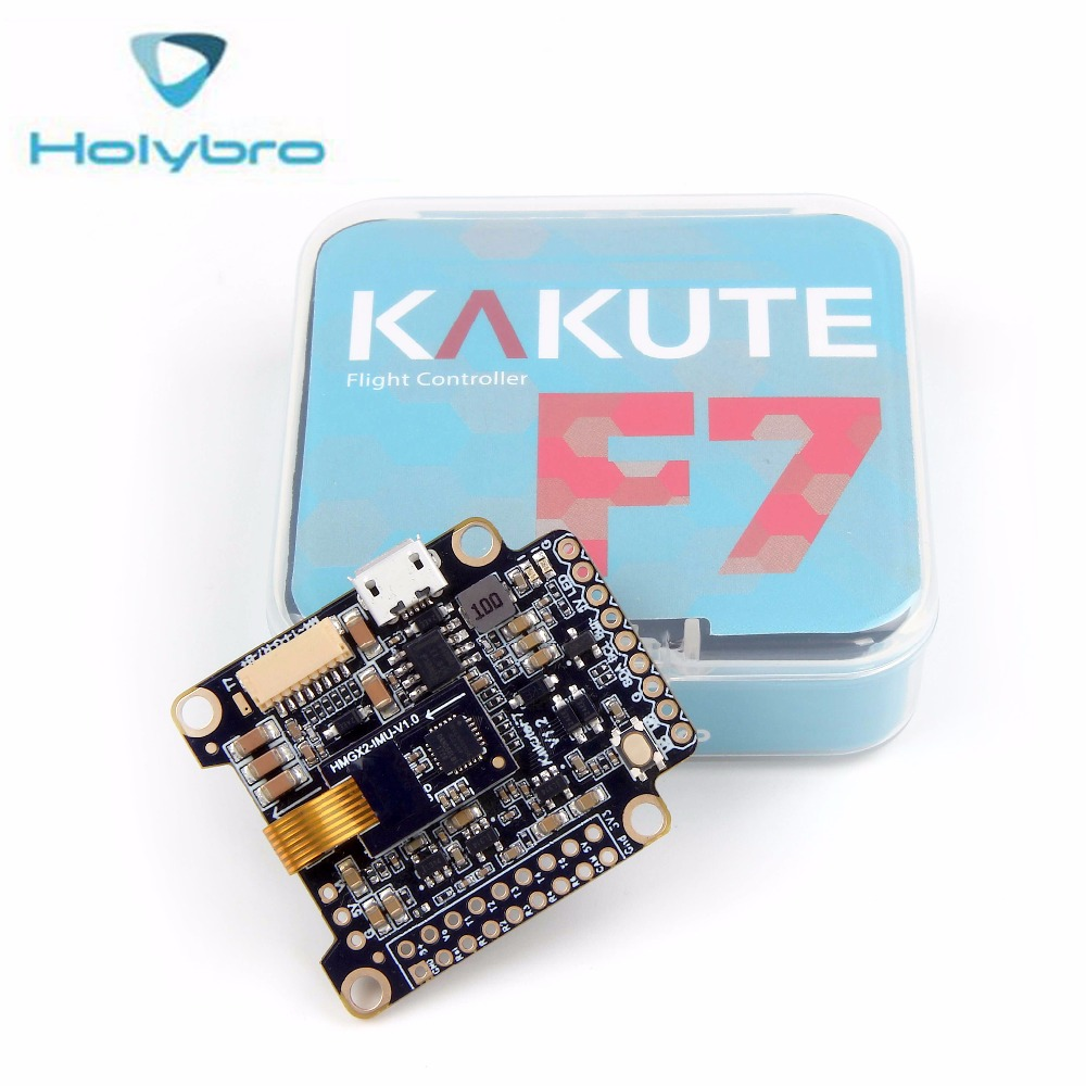 Holybro Kakute F7 Flight Controllers Built in OSD Supports BLHeli Integrated BMP280 SCL/SDA pads with PID IMU VS Holybro F4 FC f722 f7 v1 upgrade version f4 flight control with osd barometer
