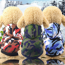 Jackets Hoodies Pet-Outfit Coat Dogs Christmas Small Large Winter for Autumn And Warm