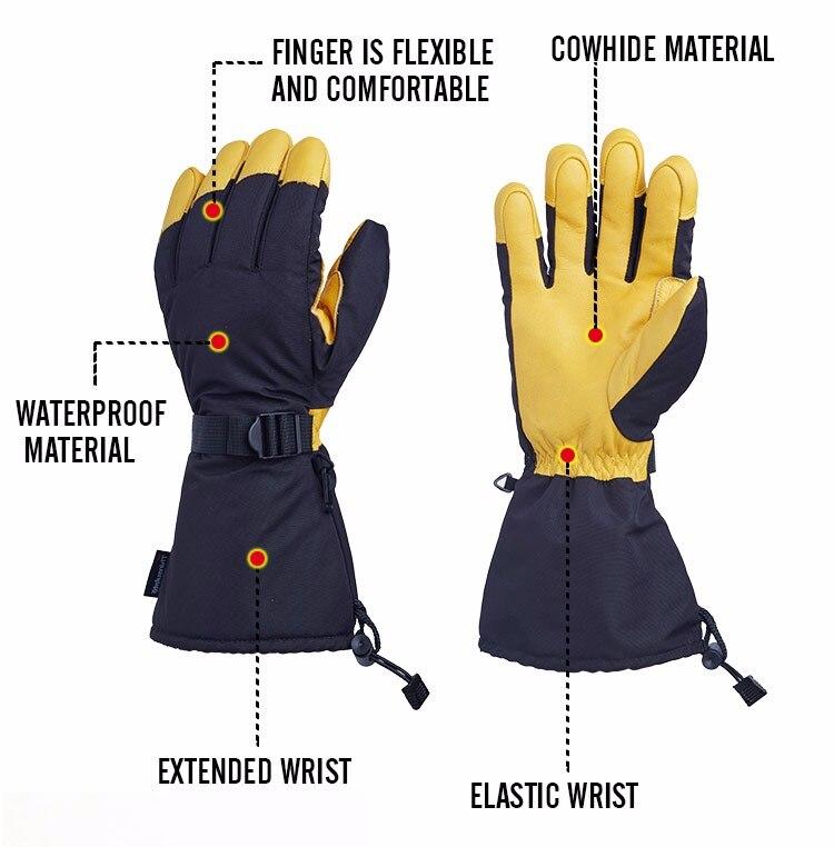 ski gloves snowboard
