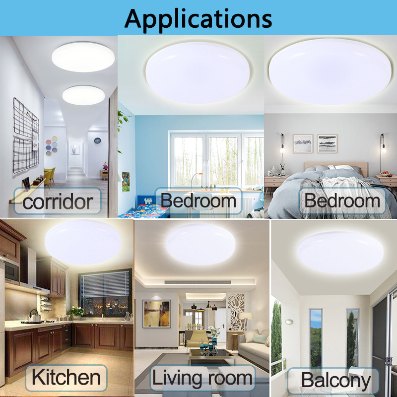 Lights & Lighting Beautiful Pir Motion Sensor Led Ceiling Light 12w 18w Modern Ufo Ceiling Lamp 50w Surface Mount Lighting Fixture For Living Bathroom 220v