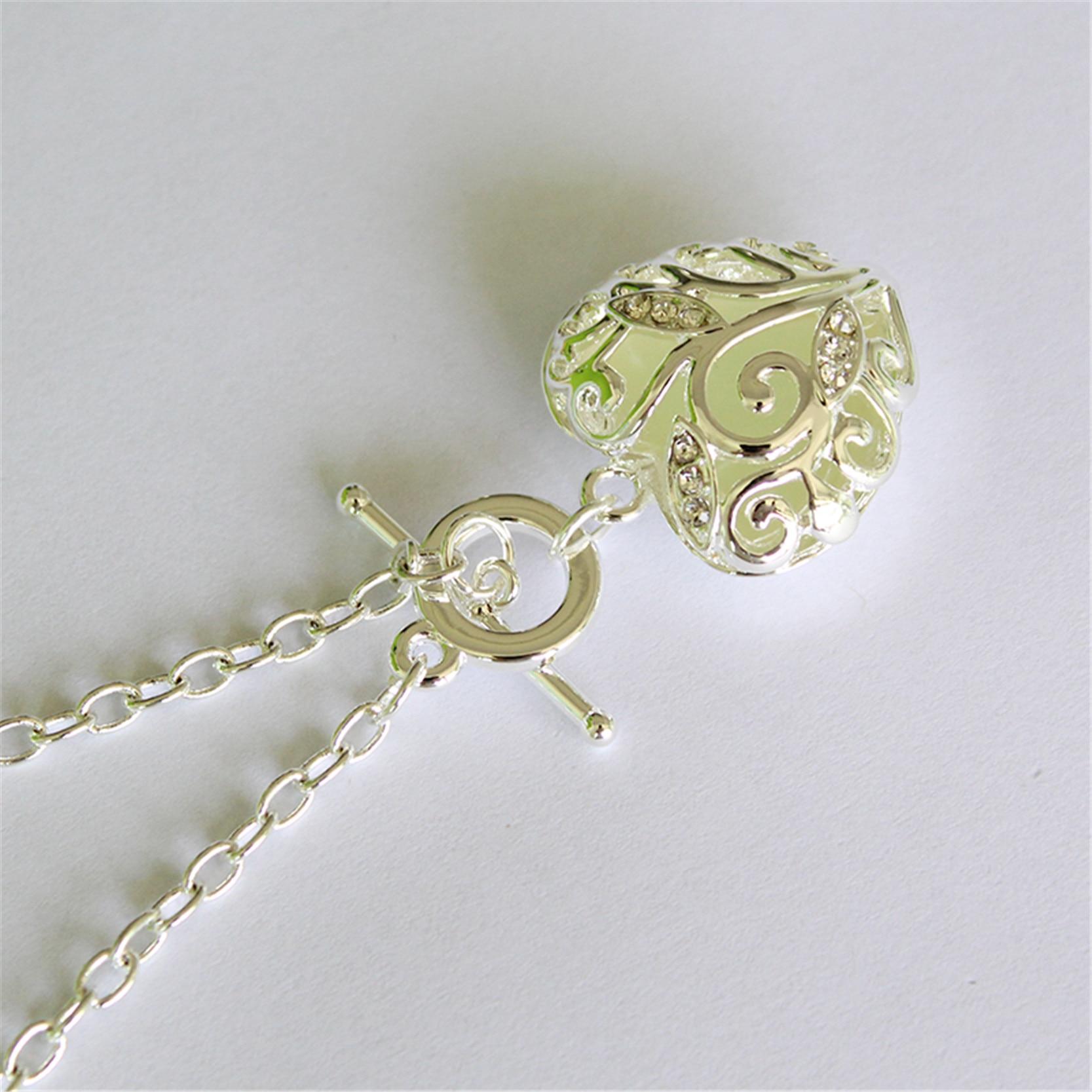 Fashion Silver Luminous Armband Glödande i Dark Heart Shaped - Märkessmycken - Foto 5