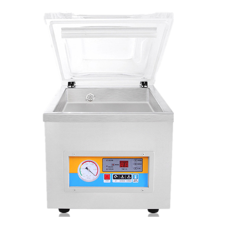 Food vacuum sealing machine/stainless steel body/free shipping by DHL/Fedex/EMS dhl ems free dhl ems 10 0 16 bar intensity air pressure compound gauge blk wht a2
