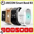 Jakcom b3 smart watch novo produto de pulseiras como taxa de coração pulseira smartband aptidão relógio do bluetooth fone de ouvido