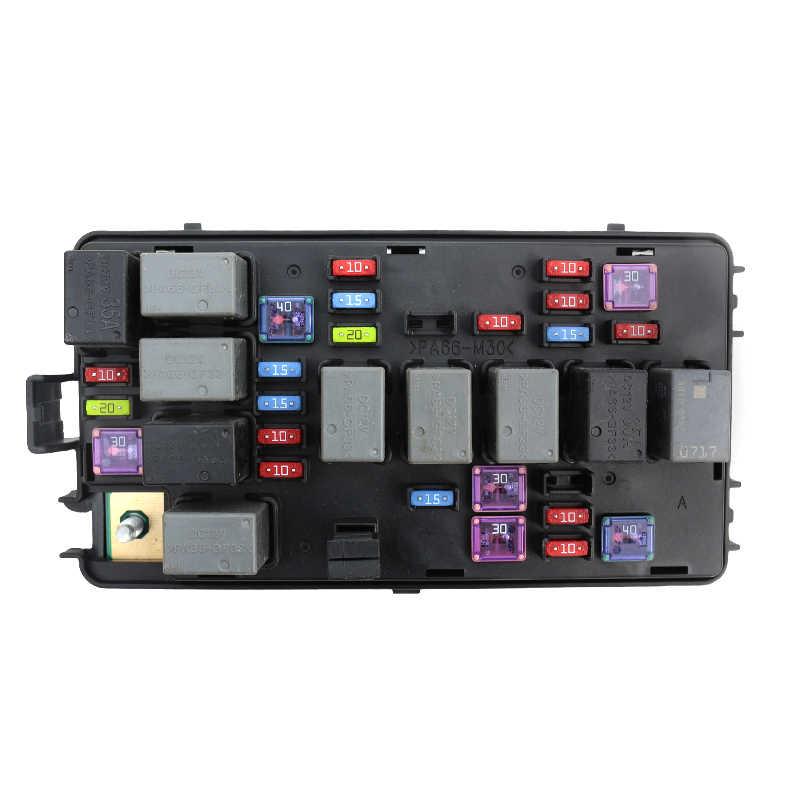 baificar brand new genuine high quality fuse box assembly engine relay  box 96838986 for chevrolet lova