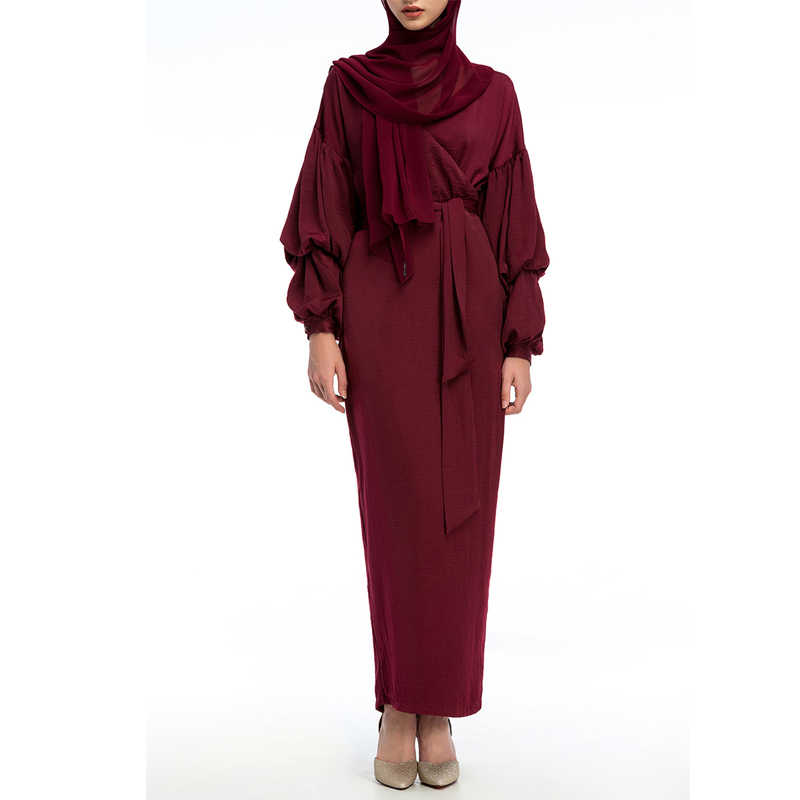 545ad8efc891b Long Abaya Muslim Hijab Dress Robe Femme Vestidos Kaftan Dubai Arabic Islam  Turkey UAE Abayas For Women Turkish Islamic Clothing