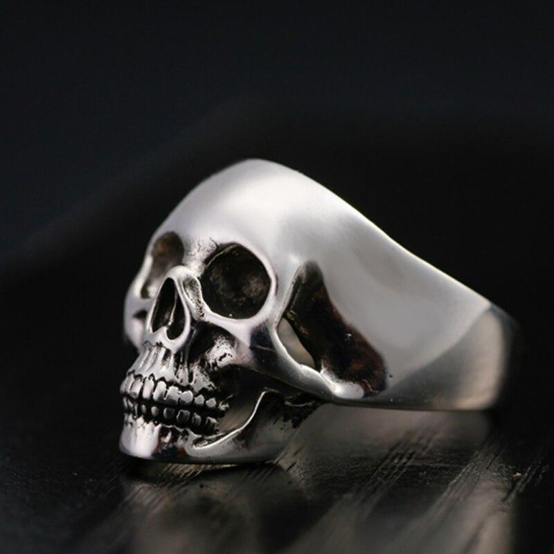 Pravi sterling prsten od 925 srebra za muškarce Dominirajući zub - Modni nakit - Foto 2