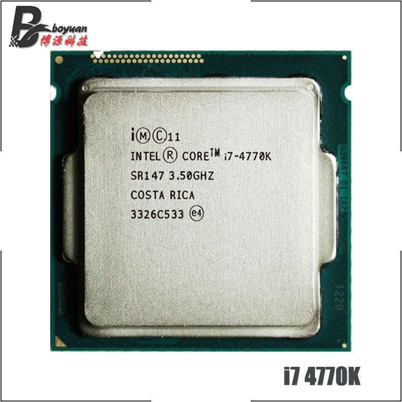 Intel Core i7 4770K i7 4770K i7 4770 K 3 5 GHz Quad Core Quad Thread