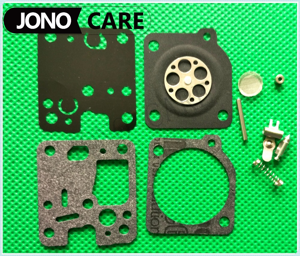 OEM ZAMA CARBURETOR REBUILD CARB KIT RB 123 FITS RB-K75 RB-K85 RB-K86, RB-K93 for Echo ES230 PB230 SRM230 SRM231  trimmer parts 2016 new carburetor carb rebuild repair kit k10 wyb for srm 260 srm 261 trimmer replacement k20 wyj type