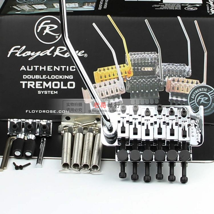 NEW FLOYD ROSE left  electric guitar silver tremolo Guitar Bridge new arrival high quality red jackson electric guitar china with floyd rose tremolo lefty available