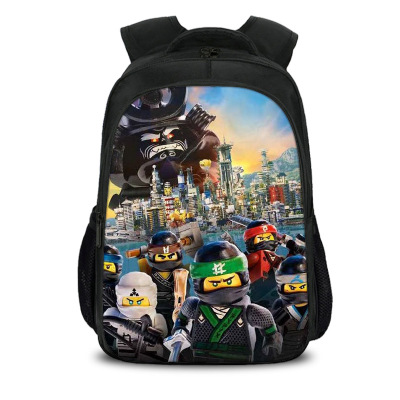 Mochila Children Fashion Cartoon Student Backpack Ninjago Bag Girls Travel Bag Teenagers Boys School Bag