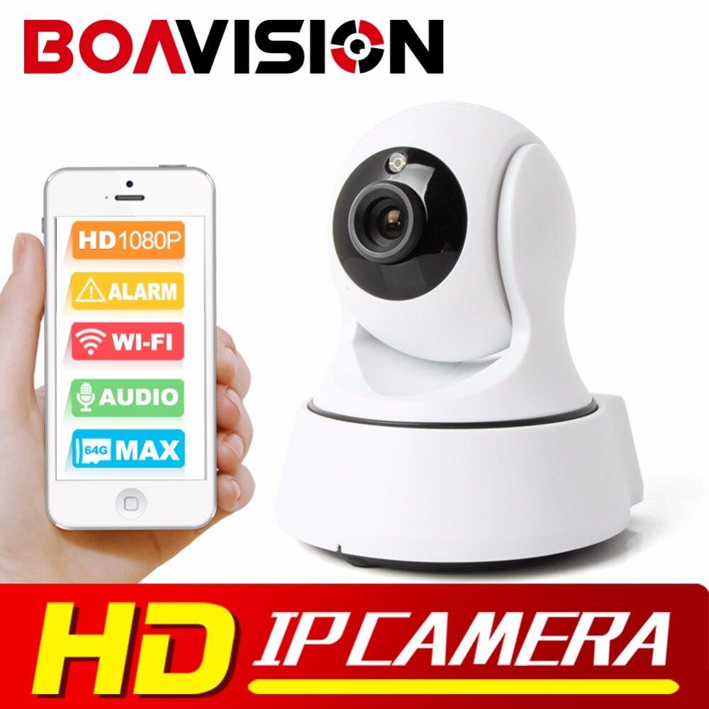 ФОТО Boavision 1080P WIFI IP Camera Wireless PTZ IR-Cut Night Vision Two Way Audio HD 2MP CCTV Surveillance Camera P2P Cloud APP View