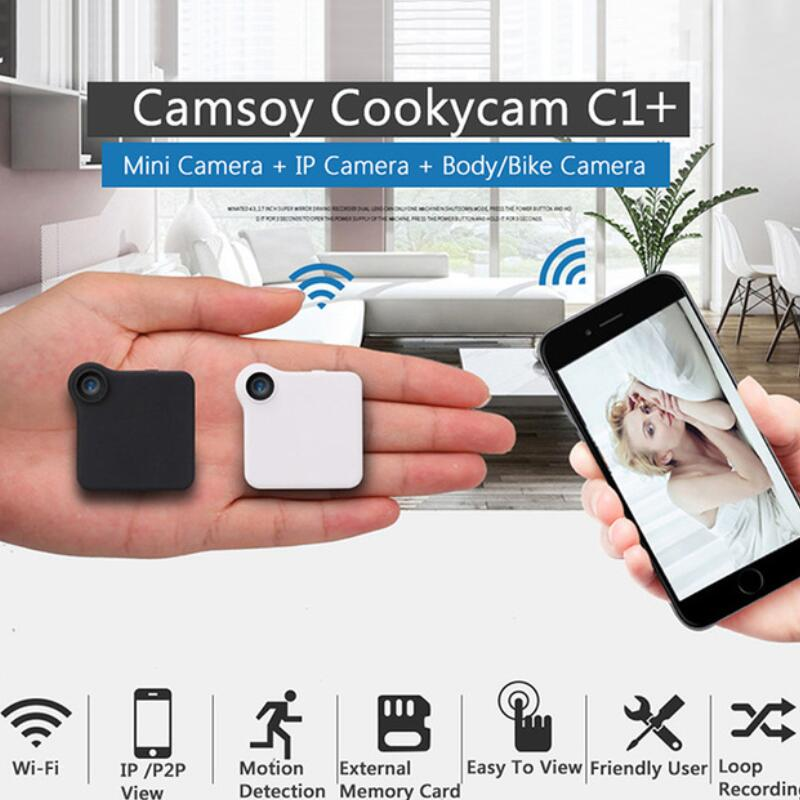 C1+ WIFI P2P Mini Camera HD 720P CAMSOY C1 Wearable IP Camera Motion Sensor Bike Body Micro DV DVR Magnetic Clip Voice Recorder смеситель для кухни timo uta 0093f chrome хром