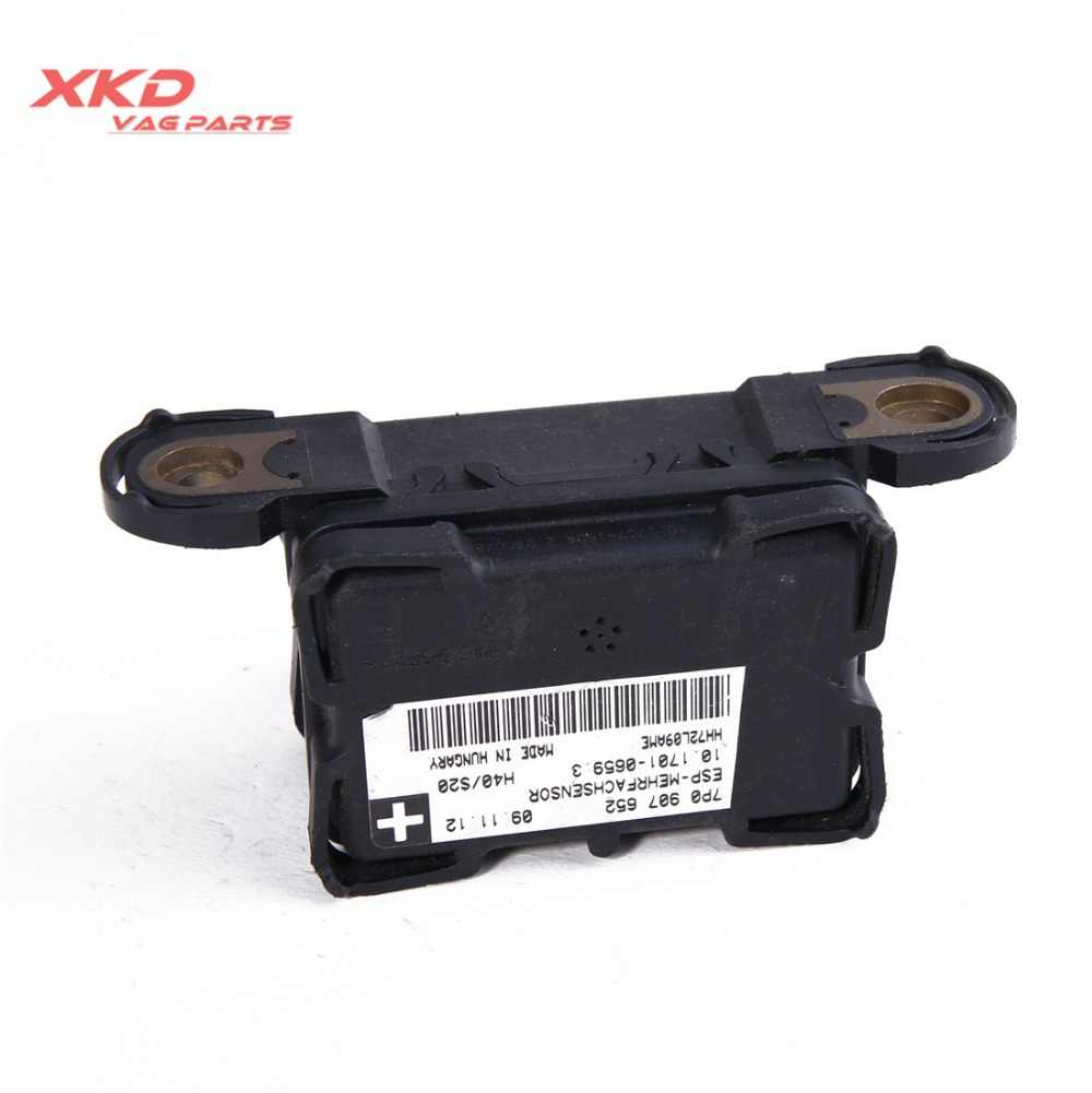 ESP Yaw Steering Sensor For VW Jetta MK5 Touareg 11-14 AUDI Q7 TT 7P0 907  652 A