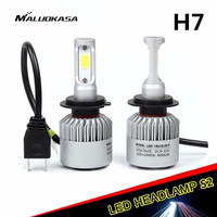 MALUOKASA S2 Car H4 LED Headlight H1 H8 H9 H11 9005 HB3 9006 HB4 H27 H7