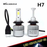 MALUOKASA S2 Car H4 LED Headlight H1 H8 H9 H11 9005 HB3 9006 HB4 H27 H7