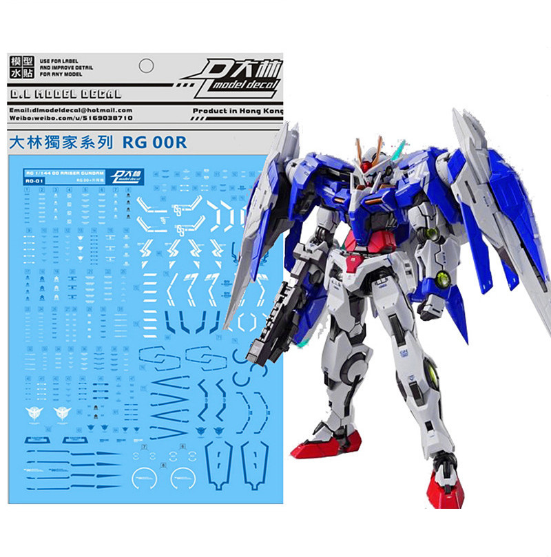 D.L quality Decal water paste RG18 For Bandai RG ZGMF-X42S SEED DESTINY GUNDAM