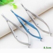 Ножницы для офтальмологической микрохирургии из нержавеющей стали для экспериментов с животными 8,5 см ножницы Венеры хирургические инструменты