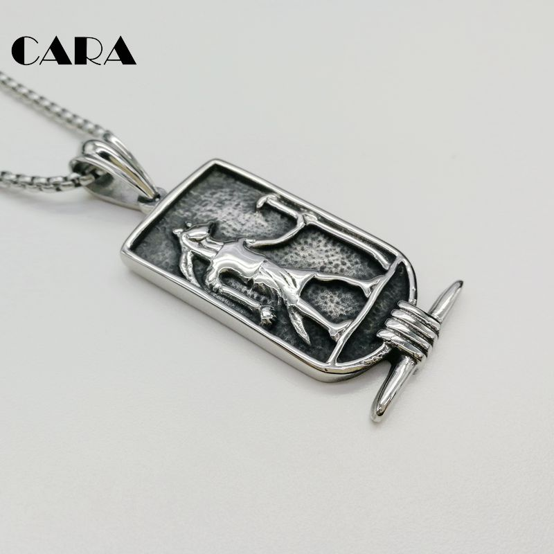 Egyptian anubis necklace pendant mens 316l stainless steel vintage egyptian anubis necklace pendant mens 316l stainless steel vintage egyptian wolf anubis pendant necklace amulet cara0332 in pendant necklaces from jewelry aloadofball Images