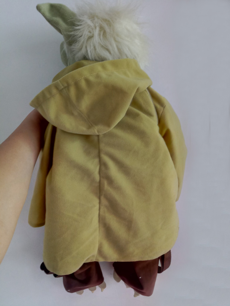 fabd4eb8143 Rare Star Wars Yoda 24inch bag BackPack Stuffed Plush toy Last Jedi Master  Force Collectible-in Movies   TV from Toys   Hobbies on Aliexpress.com