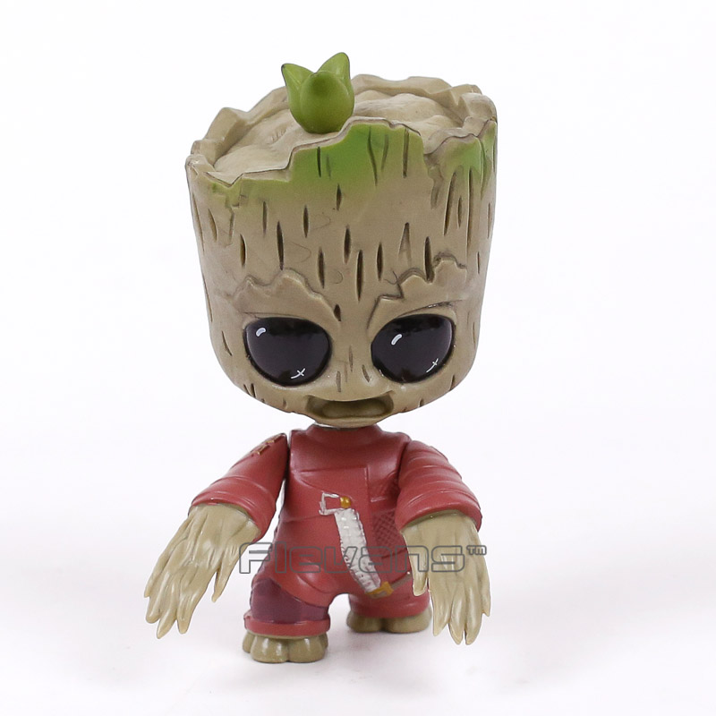 Guardians of the Galaxy 2 Baby Tree Man Bobble Head Dolls PVC Action Figure Collectible Model Toy 3 Types