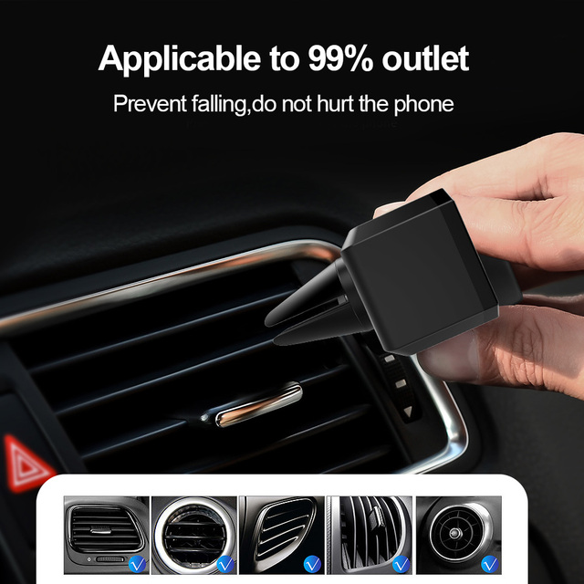 Car Phone Holder Air Vent Mount Holder Pop Universal Holder For Phone in Car Mobile Phone Holder Stand For 4-6 inch Socket