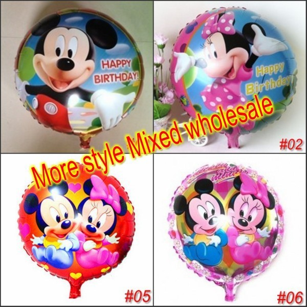 """20pcs 18"""" inch Helium balloons Kids birthday party decorations supplies Inflatable toys for children"""
