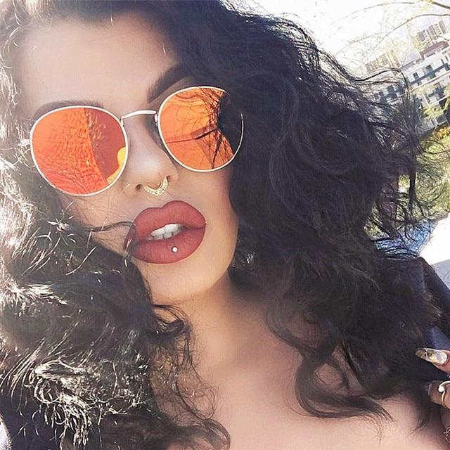 Luxury Vintage Sunglasses Women Brand Designer Female Sunglass Points Sun Glasses For Women Men Lady Sunglass Mirror DiFtc