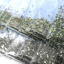 1440pcs SS3 SS4 SS5 SS6 SS8 SS10 Hot fix Rhinestones Iron On Rhinestones For Clothes Crystal AB Super Clear Hot Back Glass Stone 1440pcs peridot ab dmc hotfix flatback rhinestones crystal hot fix iron on garment sewing bags shoes stones wedding dress crafts