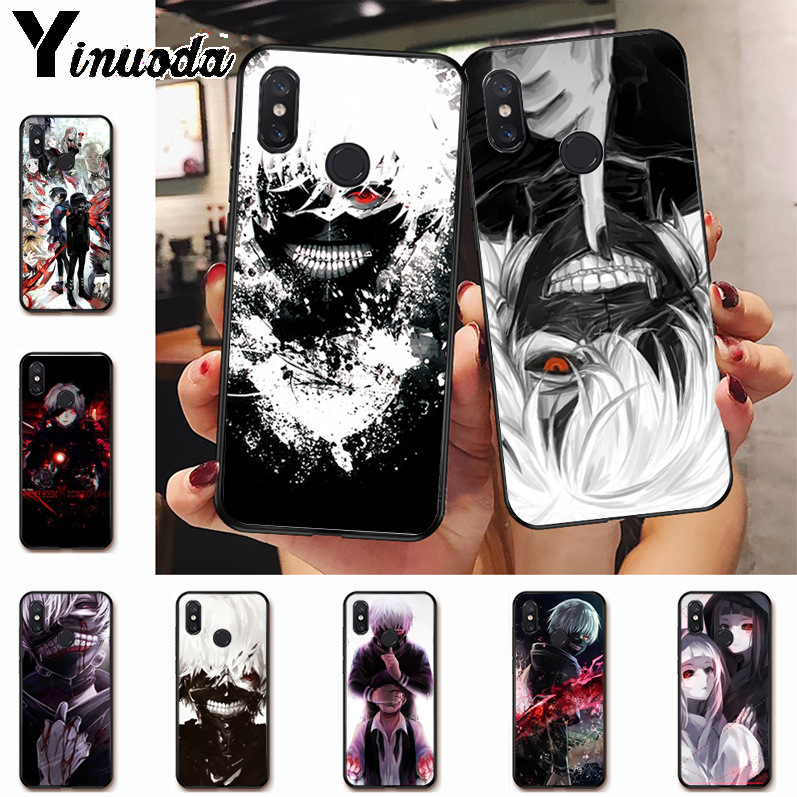 Ynuoda hot Tokyo Ghouls Ghoul Anime On Sale Luxury Cool Phone Case for xiaomi mi 8se 6 note2 note3  redmi 5 plus note5 cover