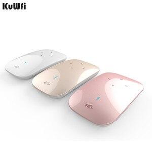 Image 1 - Wireless 150 Mbps 3G 4G Desbloqueado Router Wi fi 3000 mAh Portátil Banco de Potência função WPS Apoio Cartão SIM slot para Atingir Usuários 10