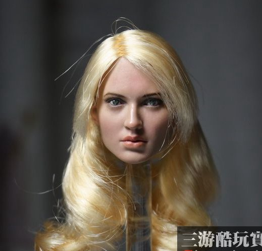 цена на 1:6 scale Female Figure accessories Emily Browning Sucker Punch Baby Doll head shape carved for 12 Action figure doll