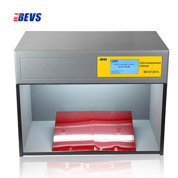Gabinete inteligente de evaluación de Color caja a juego control de pantalla táctil 6 fuentes de luz D65 TL84 CWF F UV U30