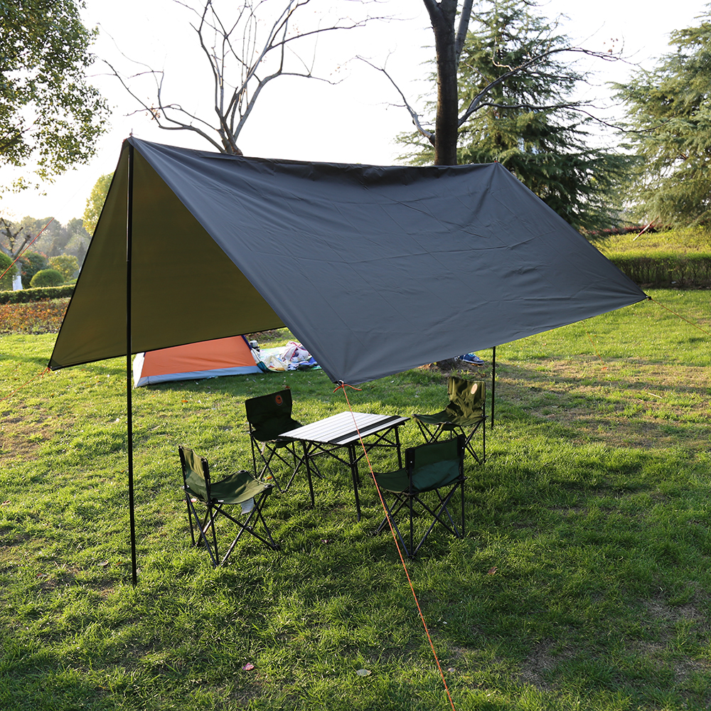 Anti Uv 3 3m 210t With Silver Coating Outdoor Large Tarp