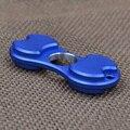 Непоседа Spinner EDC Руки Палец Счетчик Игрушки Алюминия Пользовательские Подшипник Игрушки Синий