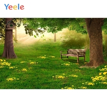 Yeele Wonderland Forest Baby Children Birthday Party Photography Backdrop Custom Vinyl Photographic Background For Photo Studio