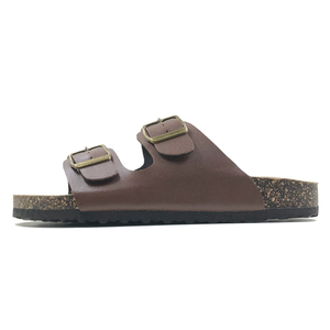 Image 3 - New 2019 Summer Style Shoes Woman Sandals Cork Sandal Top Quality Buckle Casual Slippers Flip Flop Plus size 6 11 Free S