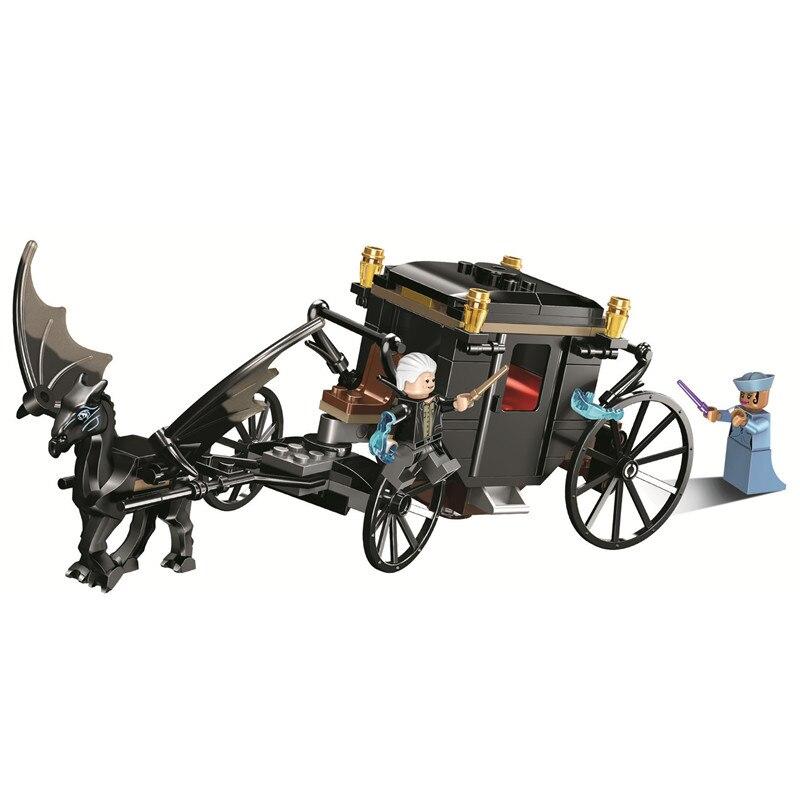 Grindelwald's Escape Harry Building Blocks Kit Brick Sets Classic Movie Potter Model Kids Toys Gift Compatible Legoe цена