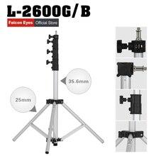Falcon Olhos Luz Leve Stand Portátil Ajustável Luz Fica 4 Seções Tripé de Câmera DSLR L-2600G/B