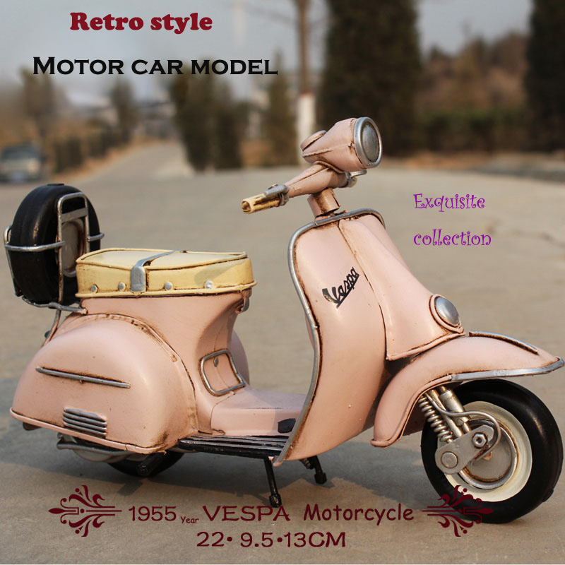 08d2723d38c Vespa vintage Car 1955 Italy old car vintage metal toy 2016 hot wheel  motorcycle 1