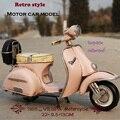Vespa старинных Автомобилей 1955 Италия старый автомобиль старинные металлические игрушки 2016 горячие колеса мотоцикла 1:12 vespa модель двигателя коллекции