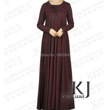 Jilbabs cotton knit Arab costume Islamic clothing for women