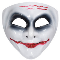6pcs Sale Street Funny Clown Mask Full Face Christmas Supplies Queen Mask Cartoon Mask Wolf People
