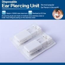 1 Units Disposable Safe Sterile Unit Ear Stud Nose Studs Piercing