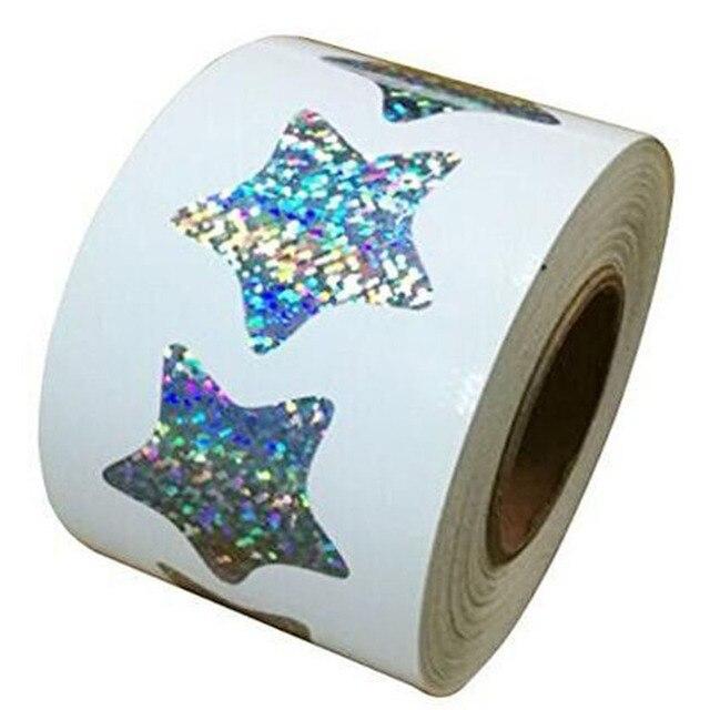 3D Mignon Glitter Étoiles Glitter Étoiles Ornements Art Outil Mur